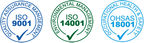 MOB Menuiserie Agencement Design est certifié ISO 9001, ISO 14001 et OHSAS 18001