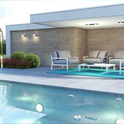 MOB Menuiserie Agencement Design à Orange Dans Le Vaucluse Pool-house
