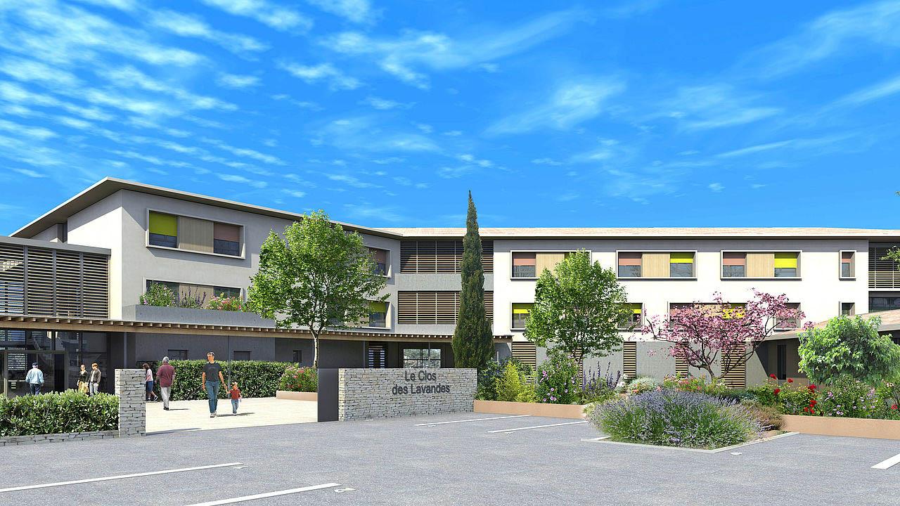 MOB Menuiserie Agencement Design à Orange Dans Le Vaucluse Nos Réalisations EHPAD De L'Isle Sur La Sorgue