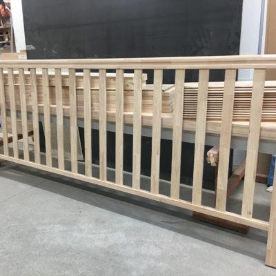 MOB Menuiserie Agencement Design à Orange Dans Le Vaucluse Rampe D'escalier