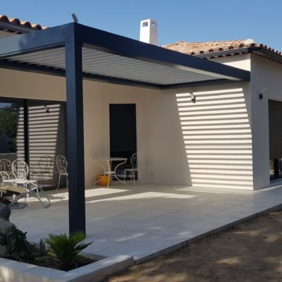 MOB Menuiserie Agencement Design à Orange Dans Le Vaucluse - Pergola